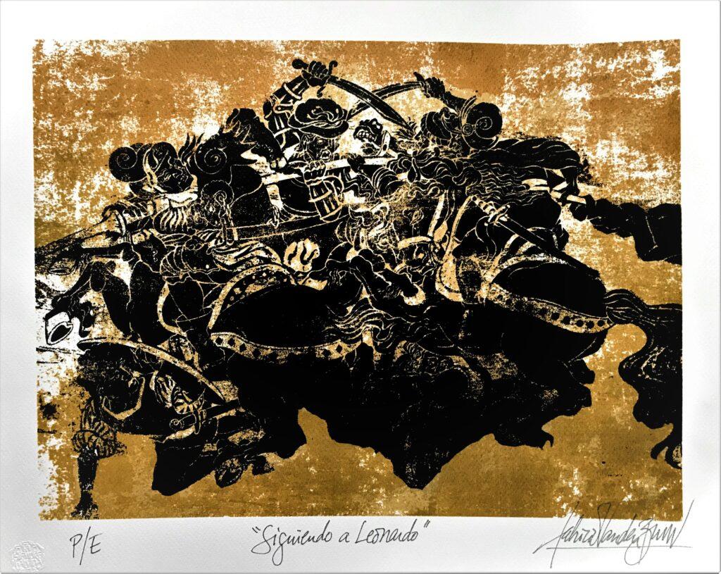 Siguiendo a Leonardo - Fabricio Vanden Broeck (Colección privada))
